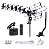 FiveStar Outdoor HD TV Antenna Strongest Up to 200 Miles Long Range