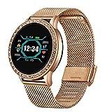 KMF Smart Watch Relogio Digital Women's Impermeable Presión...