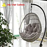 Hängende Ei Sessel Sitzkissen,hängematte Ohne Stand Soft Thicken Stuhlauflage Mit Rückenkissen Für Balkon-schlafsäle Drinnen Outdoor-b 90x120cm(35x47inch)