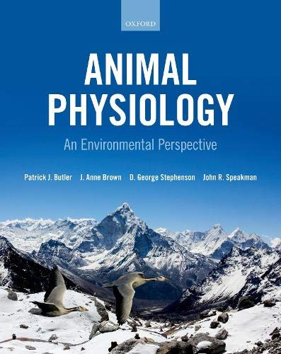 Animal Physiology: an environmental perspective