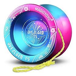 cheap Yo-Yo Professional Magic Yo-Yo T5 Plus Overlord, Fireproof Yo-Yo Ball, Aluminum Alloy …