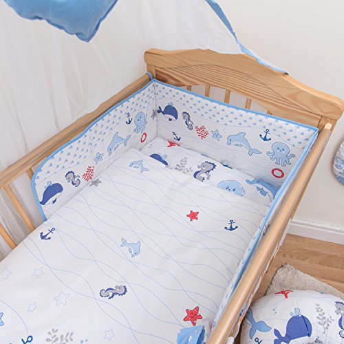 Baby Comfort 3 pièces Chambre Parure de lit pour lit bébé 120x60 cm - motif 15