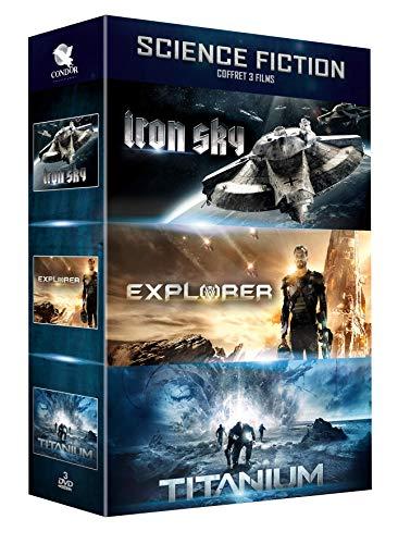 Coffret Science-Fiction 3 Films : Iron Sky Explorer Titanium
