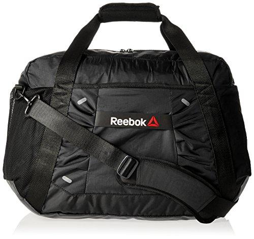 Reebok Grip Duffel Bag Small Women Sporttaschen, schwarz, 70 x 50 x 10 cm, 0.4 Liter