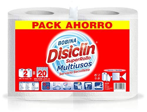 Disiclin Superrollo 2 Capas Multiusos Bobina 2 Rollos Paquete 500 g