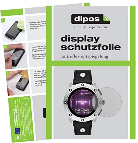 dipos I 6X Schutzfolie matt kompatibel mit Diesel On Smartwatch Axial Folie Displayschutzfolie