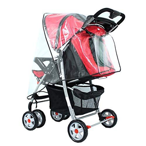 Copertura antipioggia universale per passeggino, da viaggio, per attività all'aperto, grande per passeggino, carrozzina e carrozzina