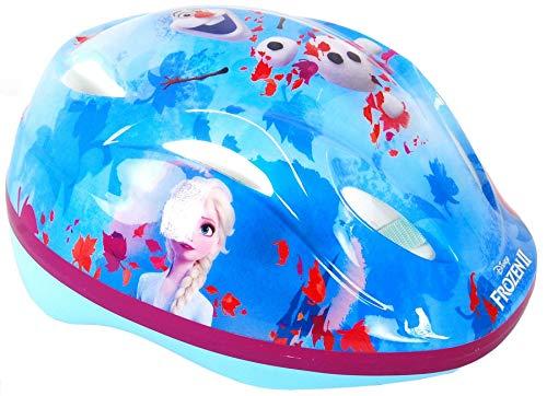 Kinder Fahrradhelm Disney Frozen II - Die Eiskönigin 2 Schutzhelm für Kinder Gr. 51-55 cm größenverstellbar