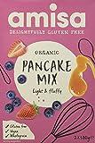 Amisa Organic Gluten Free Pancake Mix 180g (Pack of 3)