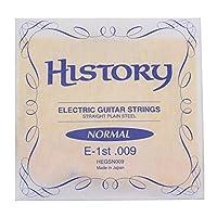 HISTORY HEGSN009 エレキギター弦 E-1st .009 バラ弦1本 (ヒストリー)