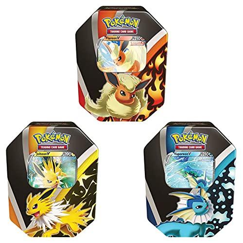 Pokémon TCG: Eevee Evolutions Tin 2021