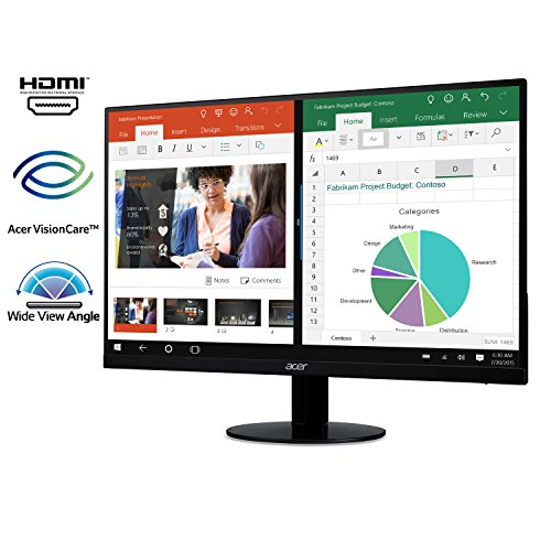 Acer SB220Q bi 21.5 Full HD (1920 x 1080) IPS Ultra-Thin Zero Frame Monitor (HDMI & VGA port)