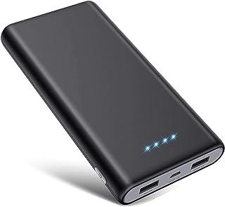 SWEYE Power Bank, 26800mAh Ricarica Rapida Caricabatterie Portatile Potente Batteria Esterna con 2 uscite e LED luci per i...