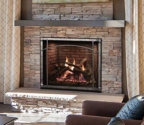 Lowest Price! Empire Rushmore with TruFlame Technology Clean-Face Direct-Vent Fireplace - 40 Inch