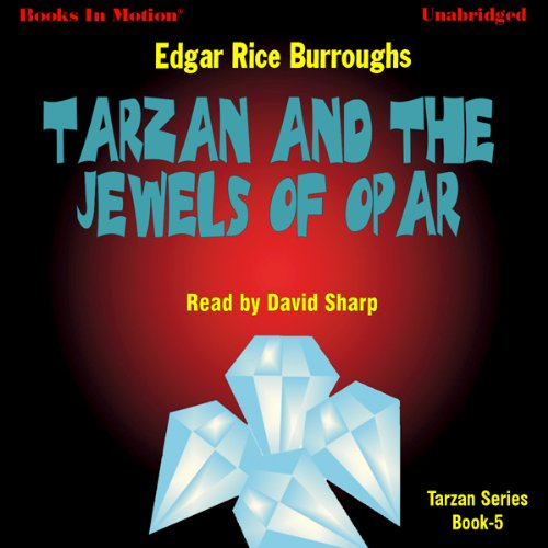 Tarzan and the Jewels of Opar audiobook cover art