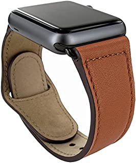 Piel Frama Armband Case for Apple Watch 38 mm - Tan