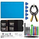 Hypak Kit de Herramientas (49 Piezas) para Reparacion de Equipos Electronicos como Moviles, Tabletas, Ordenadores, Camaras, Juguetes, Entre Otros