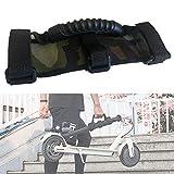 SUPEROK Scooter Skateboard Handschlaufengurt für Elektroroller, Elektrorollerzubehör, arbeitssparender Tragegriff für Xiaomi Mijia M365, für Ninebot Segway ES1 ES2 ES3 ES4