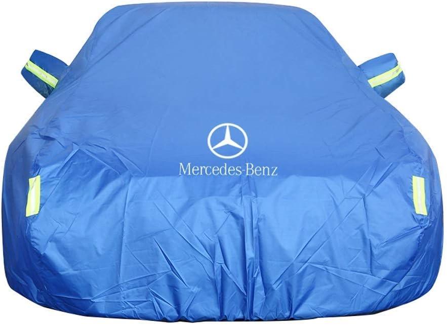 Housse de voiture pour Mercedes-Benz ML AMG Couleur : tissu Oxford Tissu Oxford /épais Protection contre le soleil et la pluie Peluche int/égr/ée