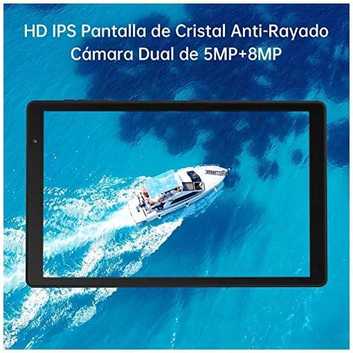 Tablet 10 Pulgadas Vankyo S20 Tableta de Procesador Octa-Core, 64GB ROM y 3G RAM, 8MP y 5MP Cámara, Android 9.0, WiFi… 5