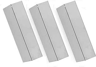 3 Pack Stainless Steel Heat Plate for Surefir sf892lp, Sonoma SGR27LP, SGR30MLP, Coleman 9998 and Tuscany CS784LP, CS892LP, SGR30MLP, SH-CS812LP Gas Grill Models