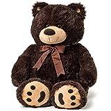 Big Teddy Bear - Dark Brown