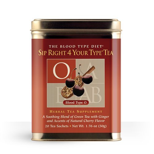 D'Adamo - Sip Right 4 Your Type Tea O - Loose Tea Blend