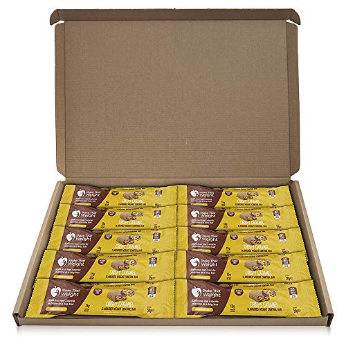 Shake That Weight Meal Replacement Bar - Crispy Caramel - 10 Bars