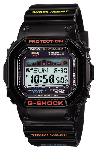 Casio Men's GWX-5600-1JF G-Shock G-Lide Tough Solar Radio Controlled Watch [Japan Import]
