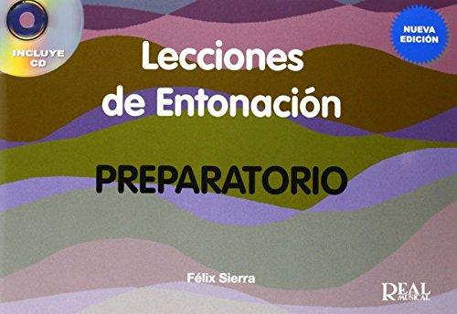 Lecciones de Entonación, Preparatorio +CD: 0 (RM Entonacion