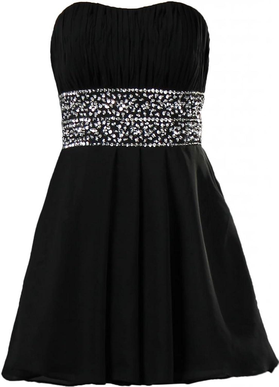ANTS Women's Beaded Strapless Short Prom Dresses 2014 Party Dress