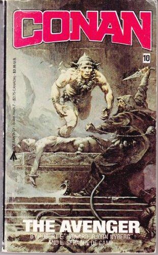 Conan the Avenger 0441114717 Book Cover