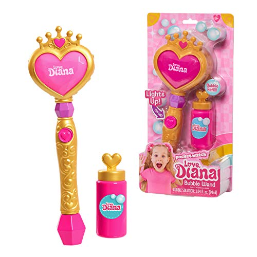 Love, Diana Light-Up Bubble Wand and Refill