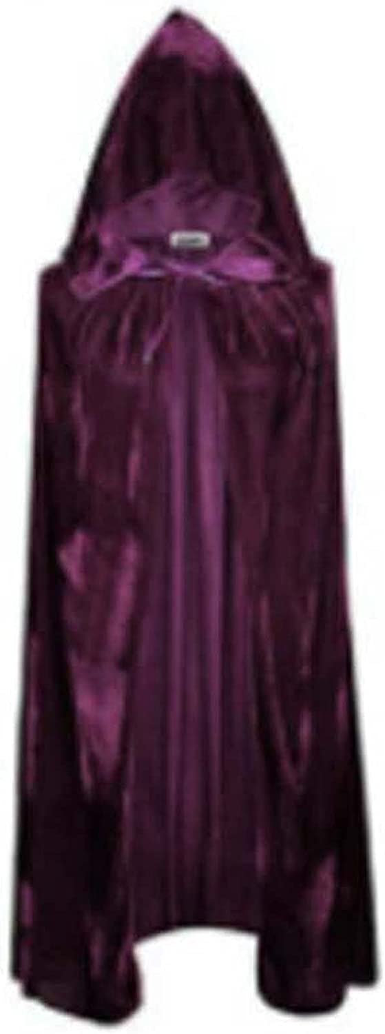 LDFANG Inexpensive 170cmHooded Attention brand Cloak Witch Carnival Capes Halloween Cloaks R