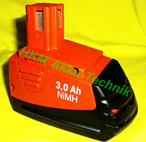 Preisvergleich Produktbild Hilti Akku SFB 121 / 126 12V Neubestückt mit 3.0 Ah Panasonic Zellen