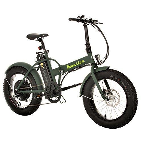 "Marnaula-Tucano Monster 20 Bicicleta Electrica, Adultos Unisex, 19\"""