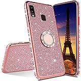 COTDINFOR Huawei Y6 Prime 2019 Case Glitter Diamond Shining