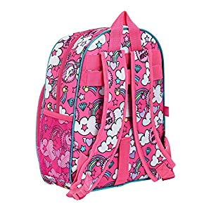 Mochila Infantil de Minnie Mouse de safta 612012609, Color Rosa