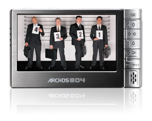 Archos 604 Tragbarer Mediaplayer 30 GB 16:9 10,9 cm (4,3 Zoll) Display anthrazit
