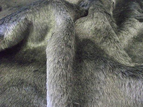 CRS Fur Fabrics Tela con Pelo sintético Corto sintética de