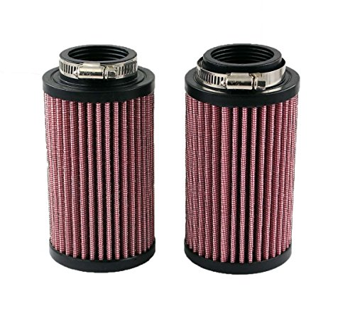 Stout Fast New pack for Yamaha Banshee YFZ 350 K&N Style Air Pod Filters Filter Pair Stock Carbs 26mm KN