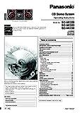 Panasonic SA-AK230 SA-AK330 SA-AK333 CD Stereo System Instruction Manual Reprint [Plastic Comb] Every Instruction Manual