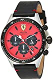 Reloj Scuderia Ferrari para Hombre 0830387, Negro (Rojo/Negro)
