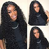 8A Virgin Brazilian Hair Deep Wave 3 Bundles Mixed Length 16 18 20 inch Brazilian Curly Virgin Hair Remy Hair Weave Human Hair Extensions 300g