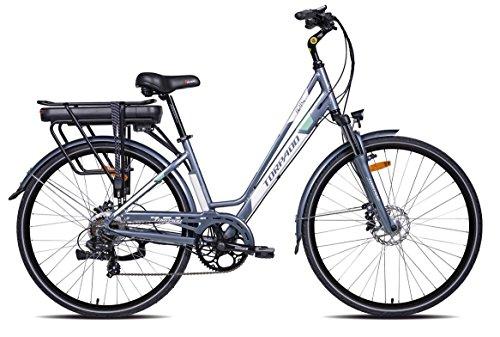 TORPADO E-Bike Iris 28'' 6v Tg.44 Bafang 250Wh 2018 (City Bike Elettriche)
