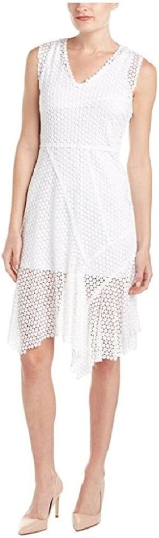 Elie Tahari Eloise White Lace Dress (2)