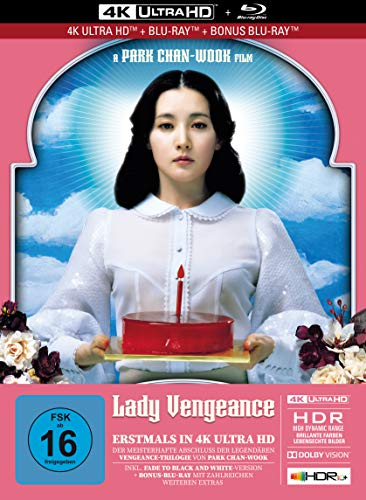 Lady Vengeance - 3-Disc Limited Collector's Edition im Mediabook (4K Ultra HD + Blu-Ray + Bonus-Blu-Ray)