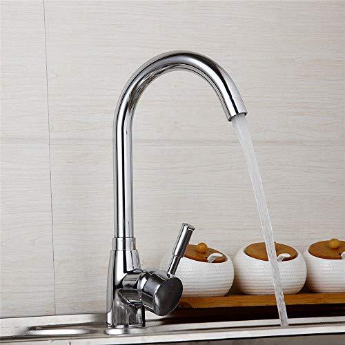 catalpa Fiore rubinetto da cucina 360gradi rotante 360° girevole rubinetto da cucina Miscelatore rubinetto lavello rubinetto monocomando per lavabo