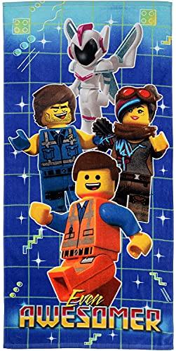 YOMOCO Lego - Toalla de playa portátil, ultraligera y de secado rápido, ideal como toalla de playa, toalla de viaje, toalla de sauna, toalla de baño, picnic, para adultos y niños (1,90 x 180 cm)
