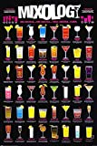 1art1 Cocktails - Mixology, In Englisch Poster 91 x 61 cm